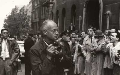 Henri Cartier-Bresson - New York 1961 - copyright Lisl Steiner