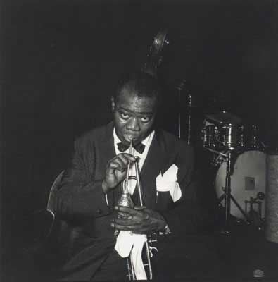 Louis Armstrong  - Buenos Aires 1957 - copyright Lisl Steiner