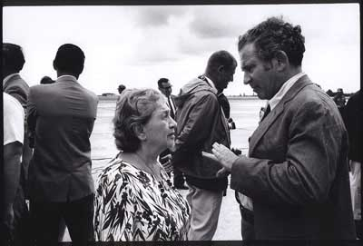 Norman Mailer and Mother - 1968 - copyright Lisl Steiner