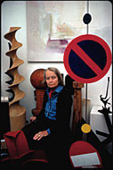 Lisl Steiner - Betty Parsons - 1979 - copyright Lisl Steiner